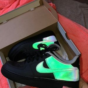 Other - Reflective Air Force ones